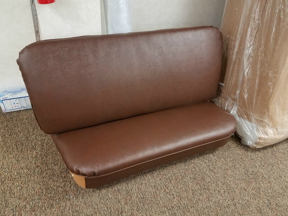 Classtique Upholstery Model A Closed Cab Pickup Seat and Backrest