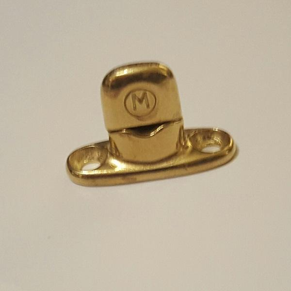 Classtique Upholstery Murphy 2 Hole Single High Male Stud Brass Hardware