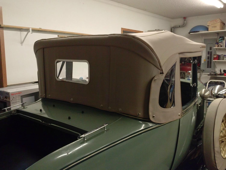 model t roadster top kit